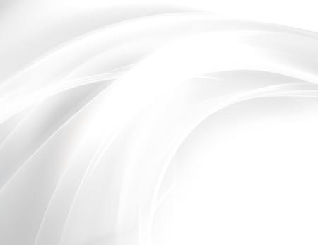 부드러운 라인과 추상 흰색 배경