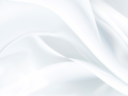 backgrounds: Closeup of white satin fabric as background