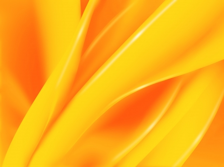 abstract orange background with smooth lines photo