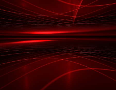 abstract futuristic background with glowing stripes Stock Photo