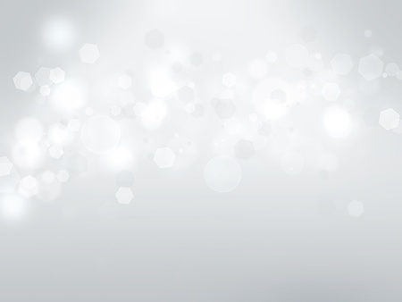 on white: abstract background with a white light blur