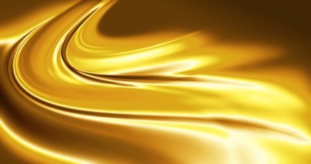 liquid metal: abstract caramel - full screen background