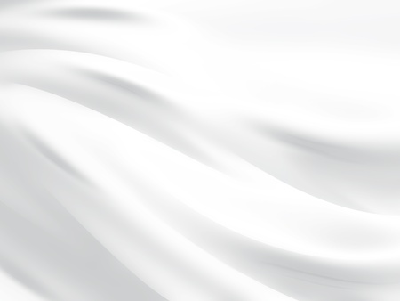 cloth: abstract white background with smooth lines
