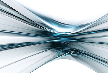 abstract futuristic background with smooth lines Stock Photo