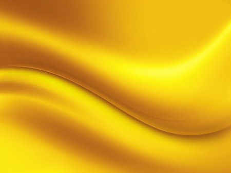 abstract gold background with wave Stock Photo - 18942328