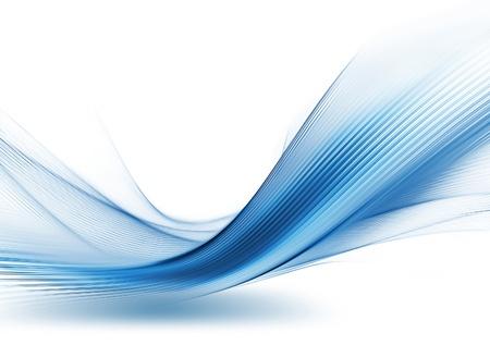 абстрактный: абстрактные технологии фон с полосами
