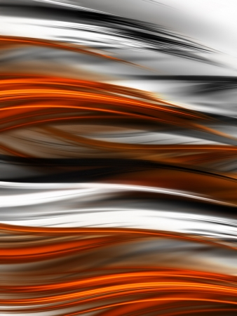 abstract tiger fur background with blurred stripes photo