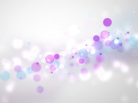 abstract blurred lights - festive background Stock Photo