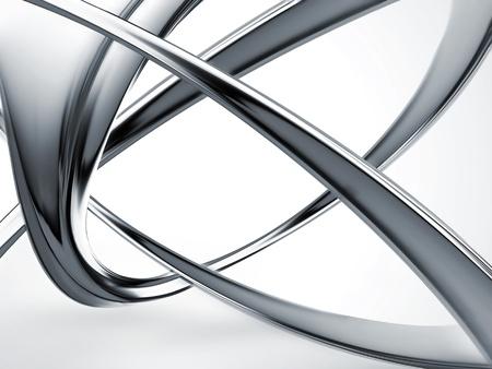 Abstrakt Metallkonstruktion - Hintergrund in der Industrie Standard-Bild - 20014987