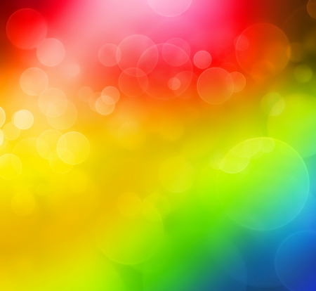 bright abstract background with bokeh effect Stock Photo - 20867437