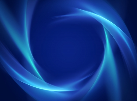 graphic arts: abstract blue background with smooth white lines