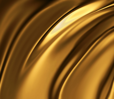 liquid gold -  abstract design or art element for your projects photo