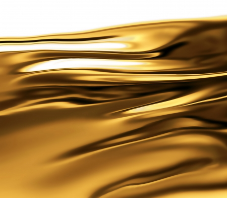 amber light: liquid gold -  abstract design or art element for your projects