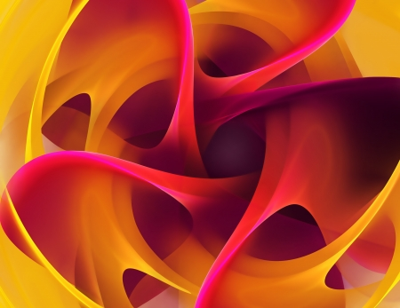 digitally generated image: Abstract art background with bright vibrant colors