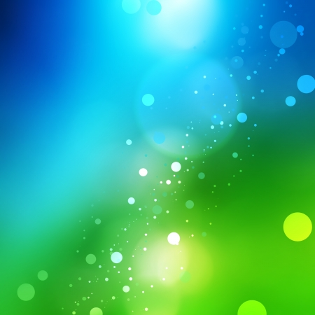 Abstract nature background with blur light