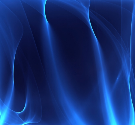 dark blue background with smoky lines Stock Photo - 22497576