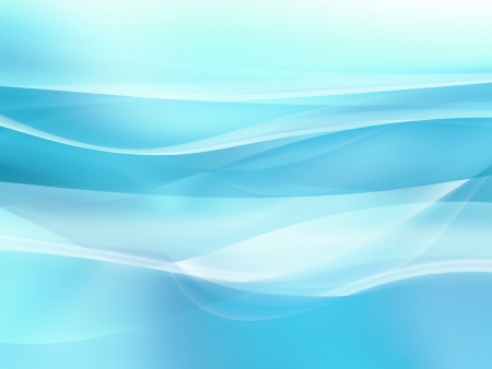 light blue background with smooth white lines Stock Photo - 22497615
