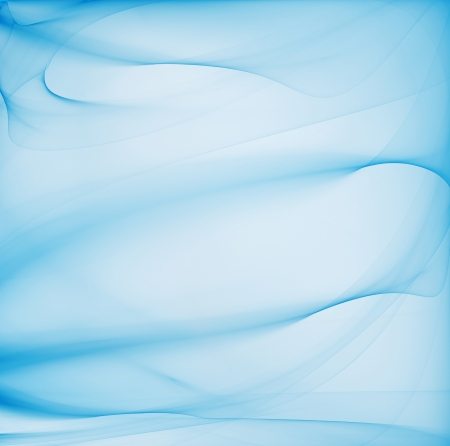 Abstract blue background with smooth lines Stock Photo - 22497625