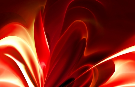 abstract fire background with smooth lines