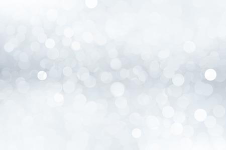 ピンぼけ効果と抽象的な冬の背景