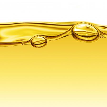 Fondo de aceite con burbujas de aire