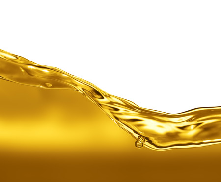 oil: Oil Wave on a white background Stock Photo