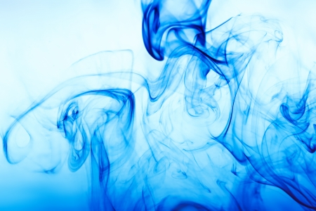 abstract background with blue smoke Banco de Imagens - 24887847