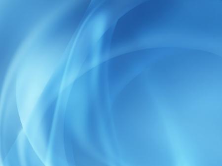 abstract: abstract blauwe achtergrond met vloeiende lijnen