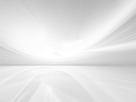 abstracte witte achtergrond met vloeiende lijnen Stockfoto