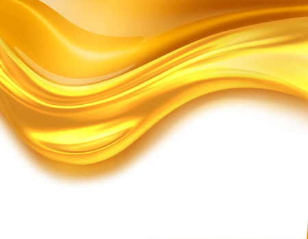 Oil Wave on a white background photo