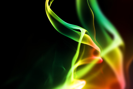 colored smoke: abstract background with glowing colored smoke