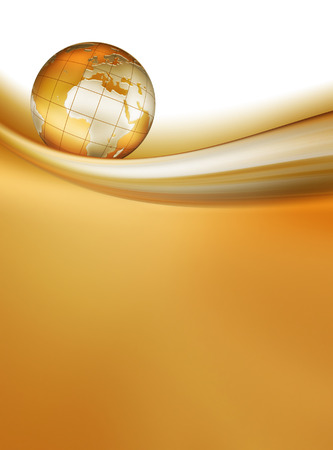 abstract business background with planet photo