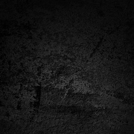 black textured background: dark old wall -  vintage wall background Stock Photo
