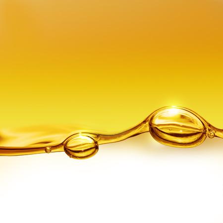 huile: arri�re-plan � l'huile avec les bulles d'air