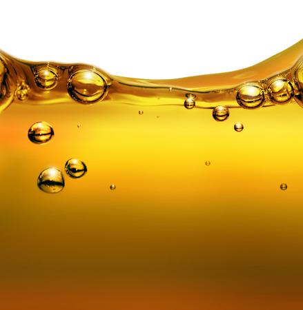 空気の泡と油の背景
