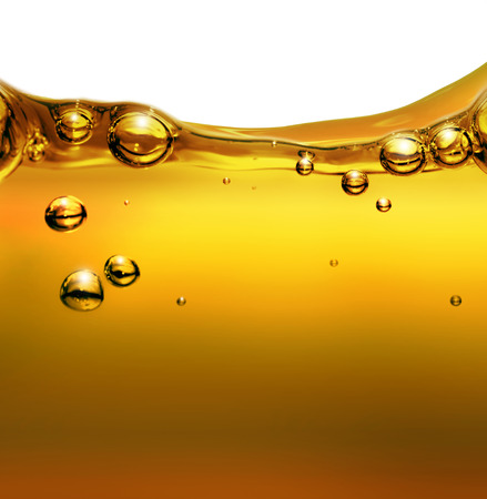 Oil background with air bubbles photo