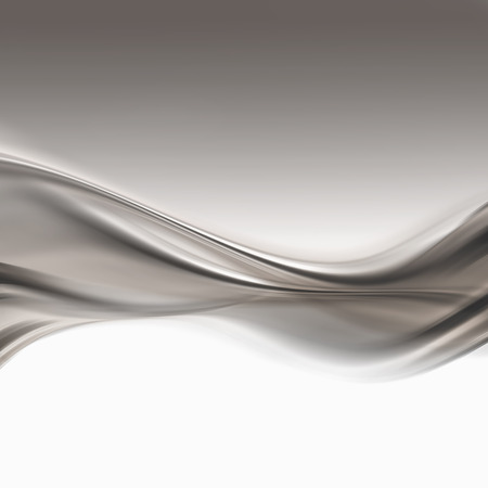 abstract silver background with smooth lines photo