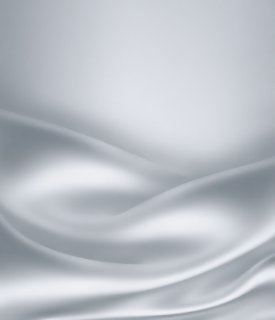 silky: Closeup of white satin fabric as background