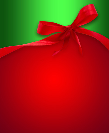 christmas bow: Christmas background with a bow