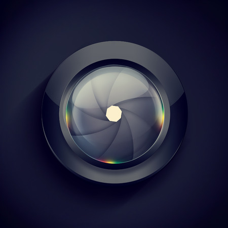 camera lens: abstract background with Camera Lenses