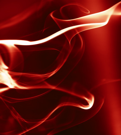 red abstract backgrounds: abstract background with smooth lines of fire Stock Photo