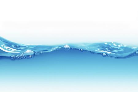 Sfondo di acqua con bolle d'aria Archivio Fotografico - 36162933