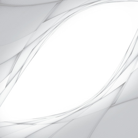 light effects: abstract white background with smooth lines