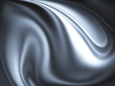 metalic design: abstract chrome background - computer generated  for your projects