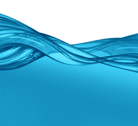 swirl background: abstract water wave - computer generated  for your projects Stock Photo