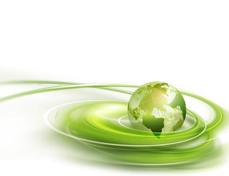 green: nền kinh doanh trừu tượng với thế giới xanh