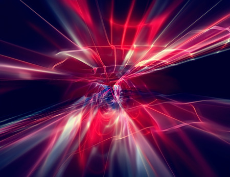 abstract flow of energy - modern technology background Foto de archivo
