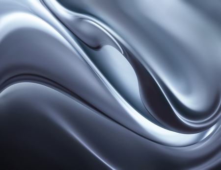 chrome: abstract chrome background full screen Stock Photo