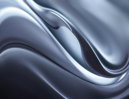 abstract chrome background full screen Foto de archivo