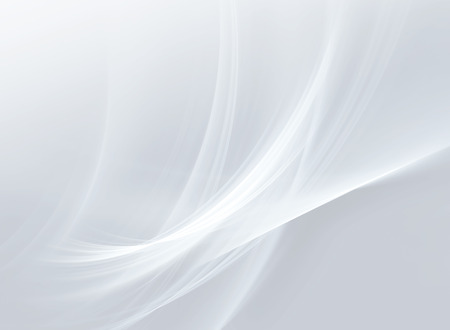 abstract white background with smooth lines Imagens - 44906112